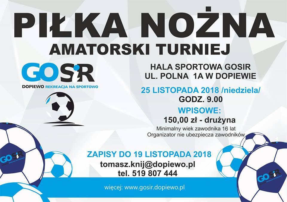 Turniej piłkarski w Dopiewie