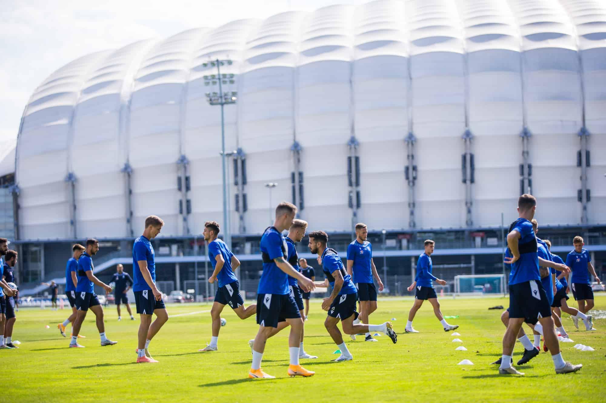 trening lecha przed ligą europy