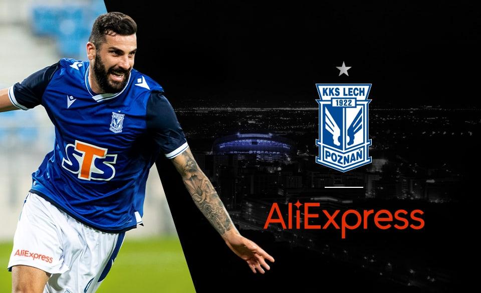 AliExpress sponsorem Lecha Poznań